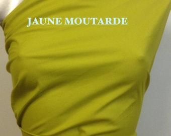 Poly/cotton lining, 5% lycra matte mustard yellow, various colors to choose locker 21 B