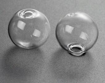 5 globes bubble glass 20mm