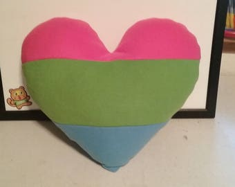 Poly Prideheart Pillow