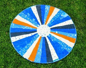 Little Boy Blue- Circle Playmat Quilt