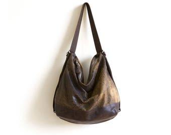 NG hobo | leather base
