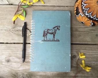 Vintage Homemade Upcycled Notebook, Sketchbook, Journal, KILGOUR'S MARE, published 1943