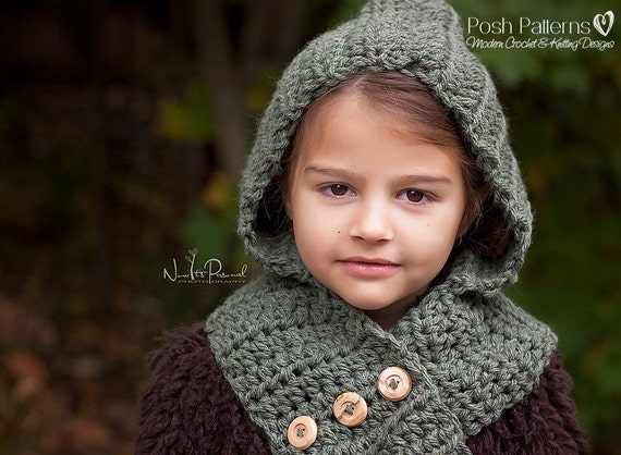 Crochet pattern crochet hooded scarf pattern hooded cowl crochet pattern crochet hooded scarf pattern hooded cowl pattern crochet patterns for women toddler child adult sizes pdf 113 dt1010fo