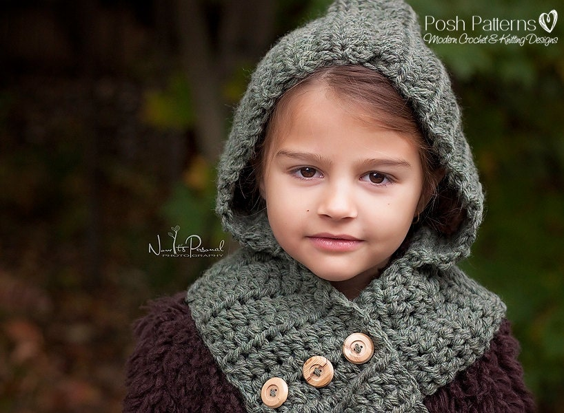 Crochet Pattern Crochet Hooded Scarf Pattern Hooded Cowl Pattern Crochet Patterns For Women Toddler Child Adult Sizes Pdf 113