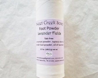 Body Powder Lavender Fields
