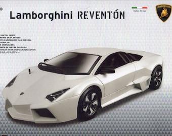 Lamborghini Reventon Die-Cast Metal MODEL CAR KIT, Scale 1:24, Brand New