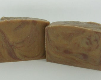 Michigan goats milk Amber & Fig Soap