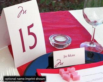 Cezanne Menu, Table Marker & Place Card Set