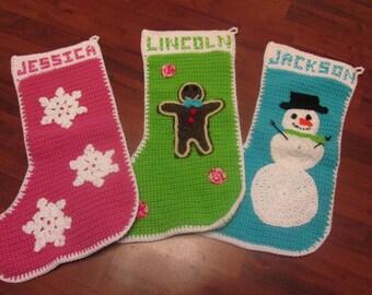Custom Personalized Christmas Stocking