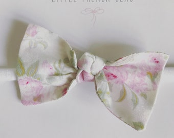 Pink Peony bow