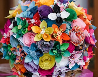 Bouquet Add-On: Printed Paper