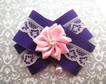 Missy violet - loop brooch