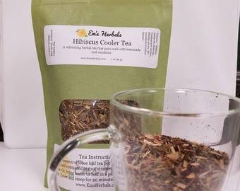 Hibiscus Cooler Herbal Tea