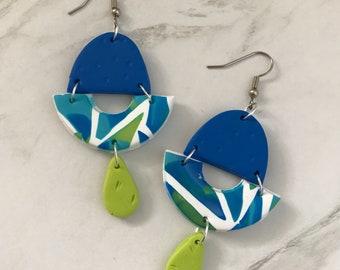 Dangle earrings - 'Kaleidoscope Eyes'