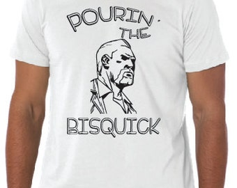 Pourin' The Bisquick Walking Dead Shirt