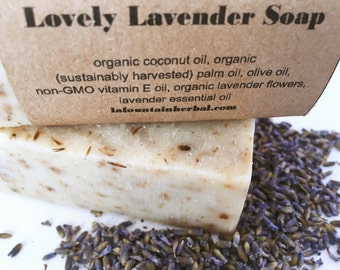 Lovely Lavender Soap - Organic Soap