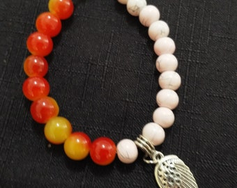 Bracelet with Angel Wing Charm
