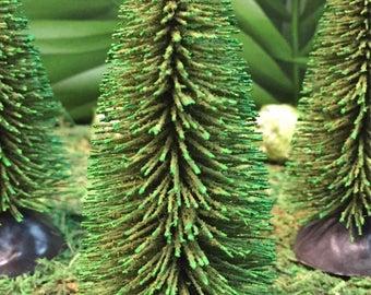 Miniature Pine Tree - Miniature Camping -Outdoor Miniatures - Miniature Trees -Wedding Cake Toppers -Camping Terrarium -Miniature Pine Trees
