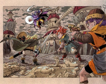 Chrono Trigger , Video Game Poster