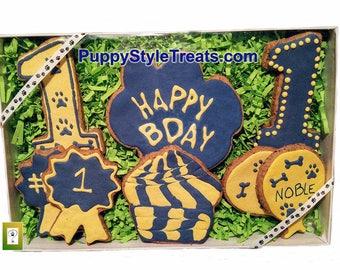 Birthday Box Dog Treats - Grain-free