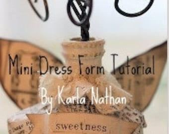 Dolled Up Dress Form online tutorial