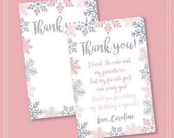 Winter Onederland Invitation, Pink and Silver, Birthday, Winter Onederland, Girl Onederland Invitation, 1st Winter Birthday