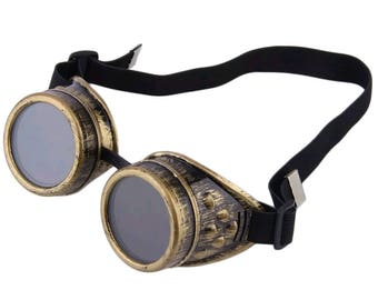Jetstar Goggles (Dirty Gold)