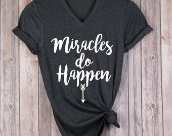 Pregnancy Announcement Shirt - Miracle Pregnancy Shirt - Pregnancy Shirt - Baby Announcement - IVF Pregnancy - IVF Success - Mother's Day