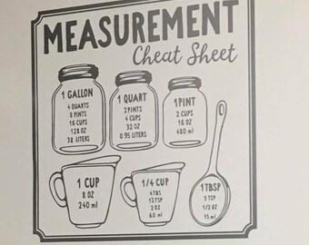 Measurement decal