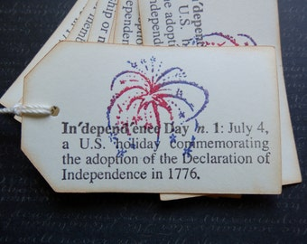 4th of July - Independence-Freedom - Gift - Hang Tags (8)