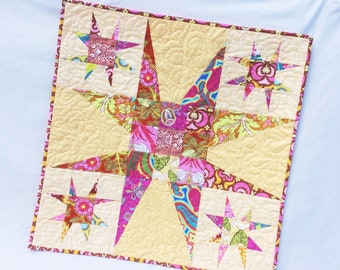 Wonky Star Wall Hanging - PDF pattern