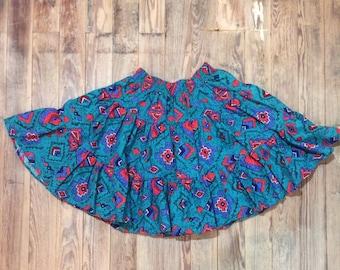 Vintage western skirt