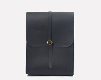 Portrait-sac à dos - noir