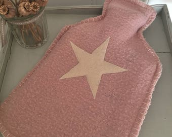 Woollen Hot Water Bottle Cover