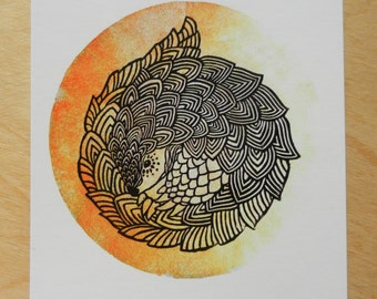 postcard: beluga or pangolin