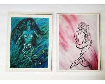 Mermaid Print Set