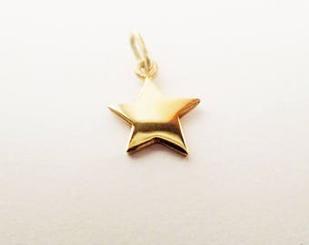 pendant star GOLD
