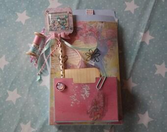 File folder flipbook mini album