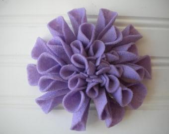 Felt Brooch in Light Purple