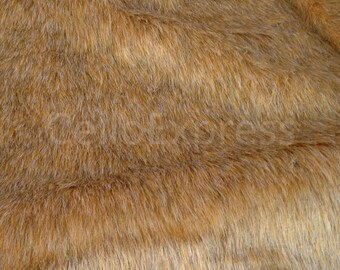 Wolf -  Choice of Lengths Available - Animal Faux Fake Animal Fur Fabric 30mm Pile - DIY Home Crafts