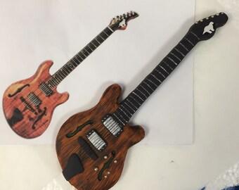 Custom Guitar Toppers