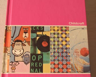 Look and Learn Childcraft Vintage Children's Hardback