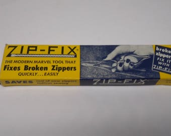 Vintage Zip Fix Zipper Repair Kit