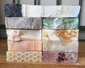 Soap Sampler Pack, Sample Pack, Variety Pack, Gift Set, Skincare
