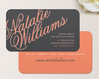 Puzzle pieces business card calling card mommy card elegant name business card calling card mommy card contact card hair stylist reheart Choice Image