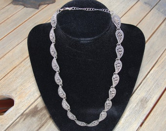 Mascasite Sterling Silver Necklace