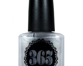 Bright Silver Metallic Nail Polish - Argentum