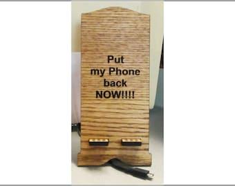 Put my phone holder