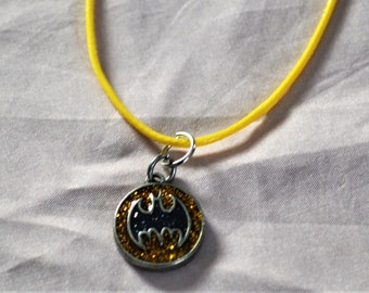Batman theme necklace