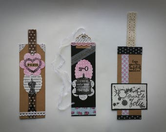 Bookmark craft patterns 1-3